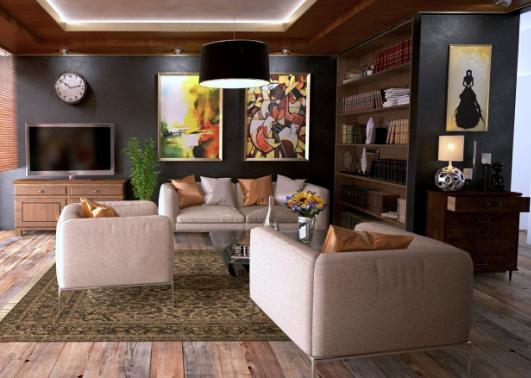 penataan ruangan keluarga minimalis